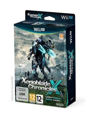 Nintendo WiiU Xenoblade Chronicles X Limited Edition