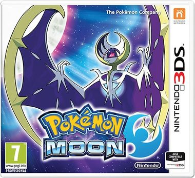 Nintendo 3DS Pokémon Moon