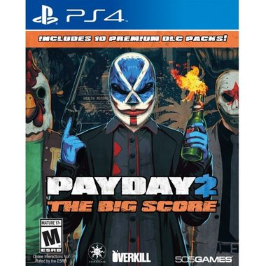 Ubisoft PS4 Payday 2 The Big Score