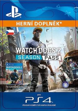 Ubisoft PS4 Watch Dogs 2 - Season Pass