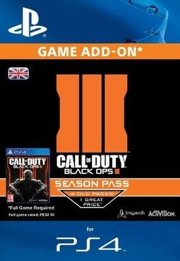 Ubisoft PS4 Call of Duty: Black Ops III Season Pass