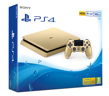 SONY PlayStation 4 - 500GB Slim Gold CUH-2016A