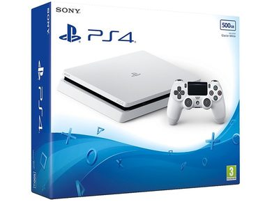 SONY PlayStation 4 - 500GB Slim White CUH-2116A