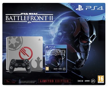 SONY PlayStation 4 - 1TB slim Star Wars Edition CUH-2116 + Star Wars BattleFront II