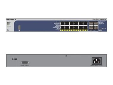 NETGEAR M4100 12x 10/100/1000 Layer 2+ Managed Gigabit Switch