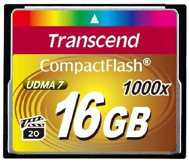 Transcend Compact Flash 16GB Ultimate