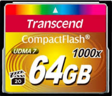Transcend Compact Flash 64GB Ultimate