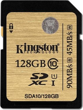 Kingston SDXC Ultimate UHS-I 128GB