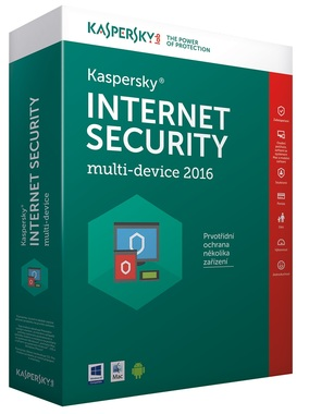 Kaspersky Lab Kaspersky Internet Security multi-device 2016 CZ