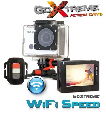 EasyPix GoXtreme WiFi Speed Action HD 1080P