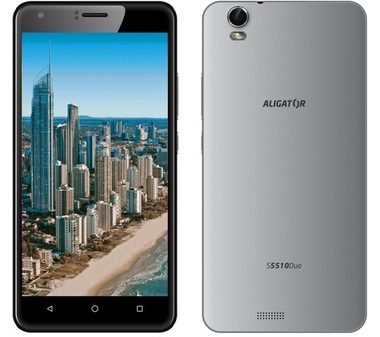Alcatel ALIGATOR S5510 Duo HD IPS šedá