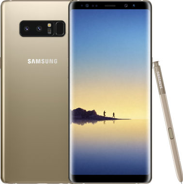 SAMSUNG Galaxy Note 8 zlatá